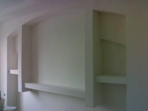 Конструкции из гипсокартона на стене своими руками